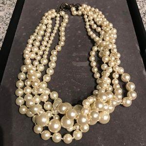 J.Crew Pearl Hammock Necklace